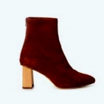 Tact stretch suede boot - tan