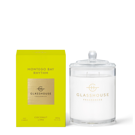 Montego Bay Rhythm-380g Soy Candle-Glasshouse Fragrances