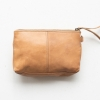 Essential Leather Pouch Clutch/Wallet - natural